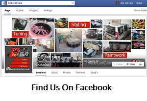 Ace Car Care FaceBook Page