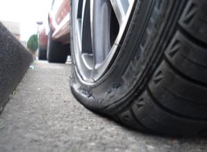 Leaking Car Wheel