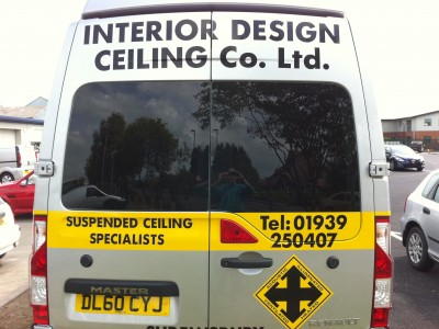 Renault Van Rear Window Tints