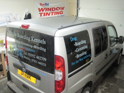 Doble WIndows Tinted