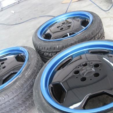 Custom Mercedes Alloy Wheel