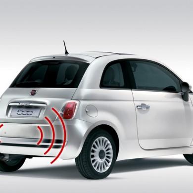 parking sensors rear fiat 500